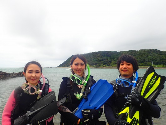 先週のお客様の声【ダイバー認定・記念ダイビング】(9/8~9/9)